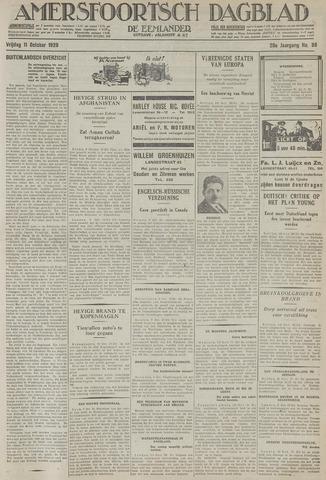 Amersfoortsch Dagblad / De Eemlander 1929-10-11