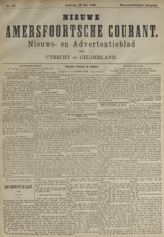 Nieuwe Amersfoortsche Courant 1894-05-26
