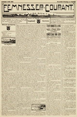 Eemnesser Courant 1924-05-06