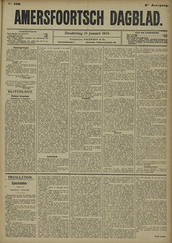 Amersfoortsch Dagblad 1905-01-19