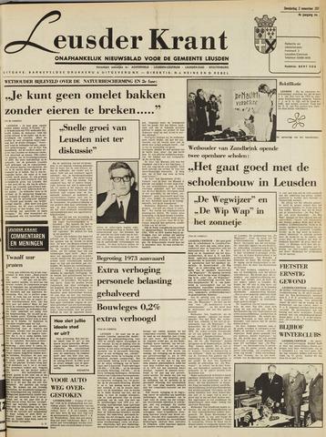 Leusder Krant 1972-11-02
