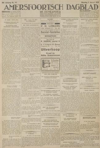 Amersfoortsch Dagblad / De Eemlander 1928-01-02