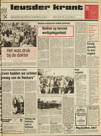 Leusder Krant 1984-05-22