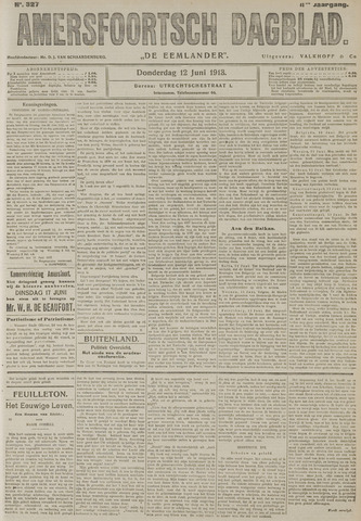 Amersfoortsch Dagblad / De Eemlander 1913-06-12