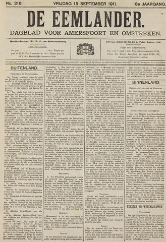De Eemlander 1911-09-15