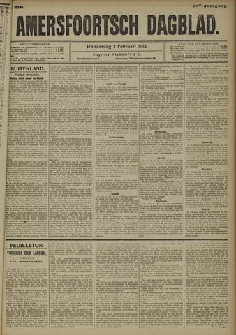 Amersfoortsch Dagblad 1912-02-01
