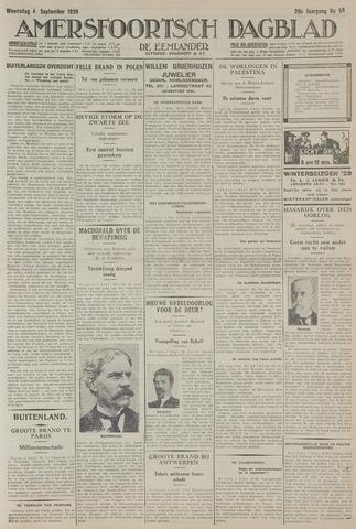 Amersfoortsch Dagblad / De Eemlander 1929-09-04