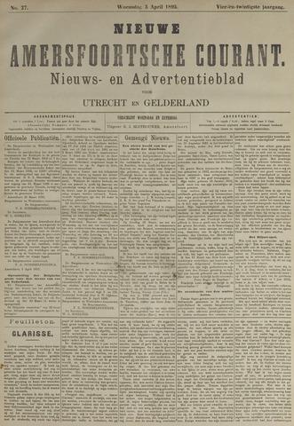 Nieuwe Amersfoortsche Courant 1895-04-03