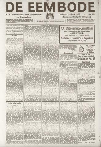 De Eembode 1923-06-19