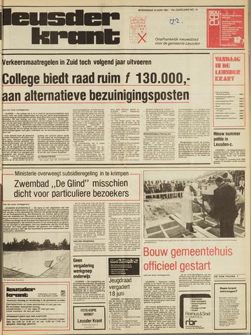 Leusder Krant 1981-06-10