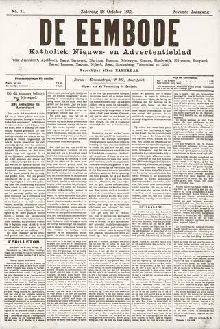 De Eembode 1893-10-28