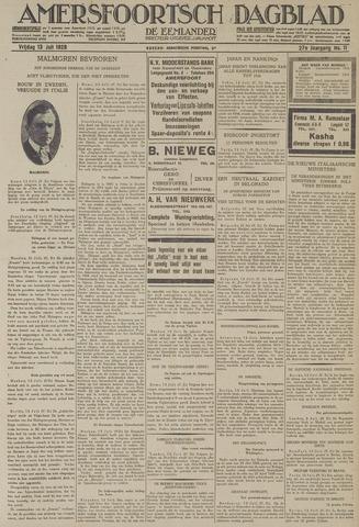 Amersfoortsch Dagblad / De Eemlander 1928-07-13