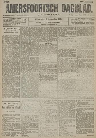 Amersfoortsch Dagblad / De Eemlander 1915-12-08