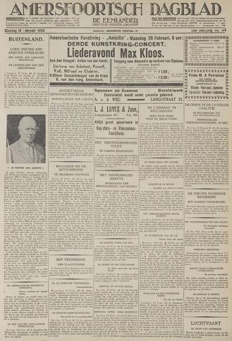 Amersfoortsch Dagblad / De Eemlander 1928-02-14