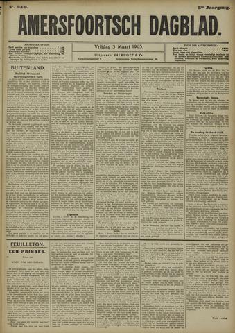 Amersfoortsch Dagblad 1905-03-03