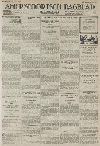 Amersfoortsch Dagblad / De Eemlander 1929-09-10