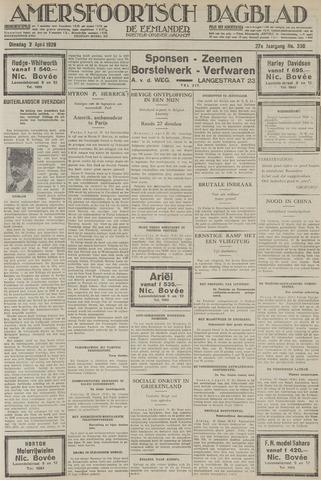 Amersfoortsch Dagblad / De Eemlander 1929-04-02