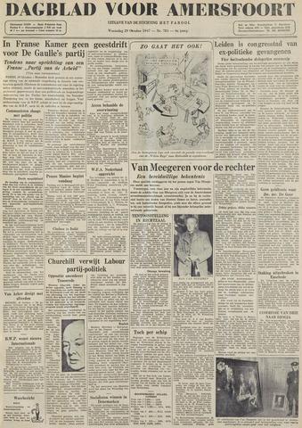 Dagblad voor Amersfoort 1947-10-29