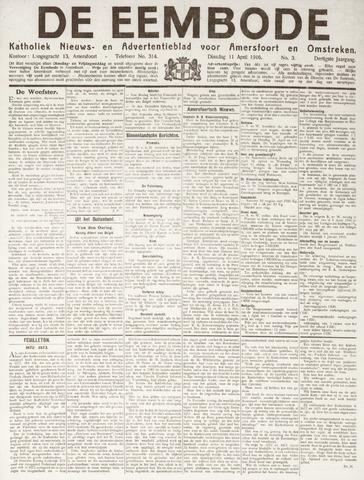 De Eembode 1916-04-11