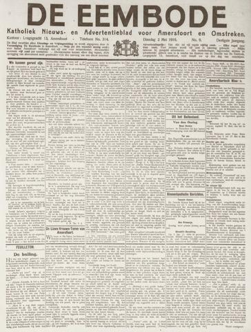 De Eembode 1916-05-02