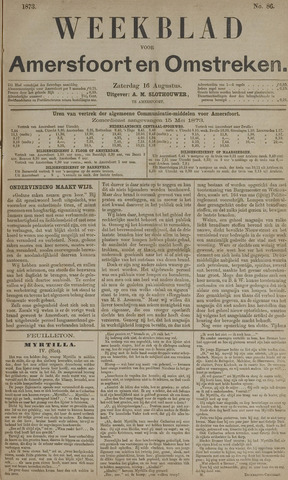 Weekblad voor Amersfoort en Omstreken 1873-08-16