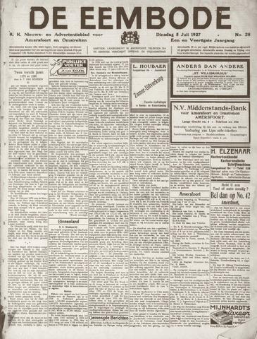 De Eembode 1927-07-05