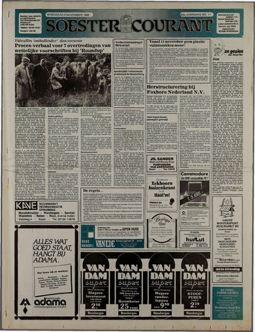 Soester Courant 1985-11-06