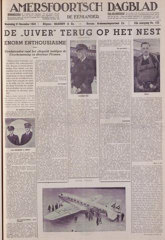 Amersfoortsch Dagblad / De Eemlander 1934-11-21