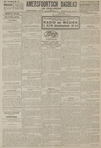 Amersfoortsch Dagblad / De Eemlander 1926-09-14