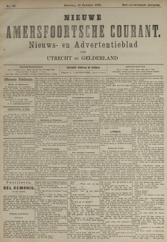 Nieuwe Amersfoortsche Courant 1894-10-13