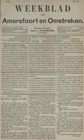 Weekblad voor Amersfoort en Omstreken 1872-04-13