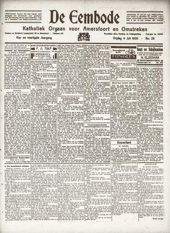 De Eembode 1930-07-04