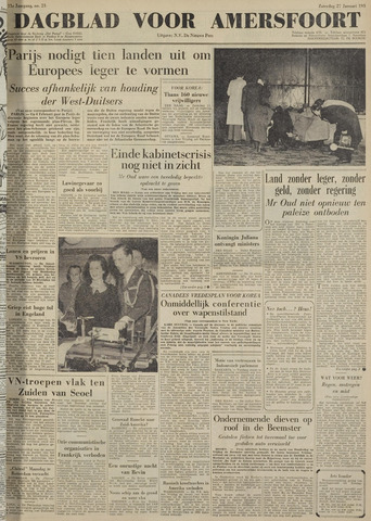Dagblad voor Amersfoort 1951-01-27