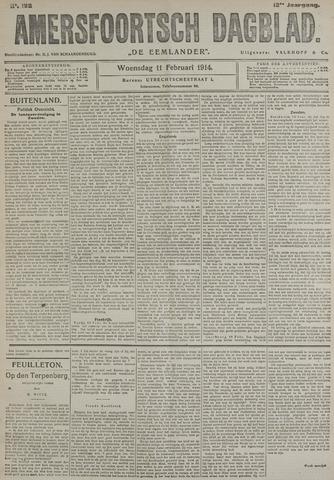 Amersfoortsch Dagblad / De Eemlander 1914-02-11