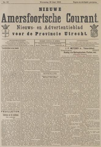 Nieuwe Amersfoortsche Courant 1910-06-29
