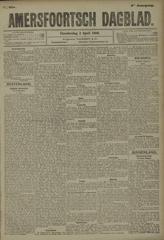 Amersfoortsch Dagblad 1908-04-02