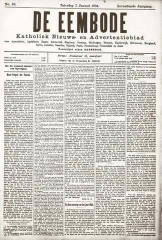 De Eembode 1904