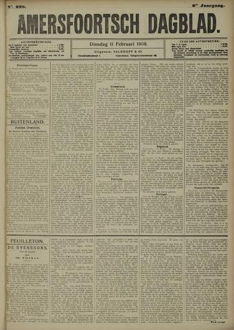 Amersfoortsch Dagblad 1908-02-11