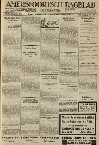 Amersfoortsch Dagblad / De Eemlander 1932-08-06