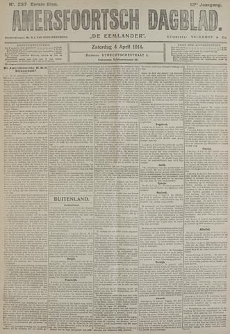 Amersfoortsch Dagblad / De Eemlander 1914-04-04