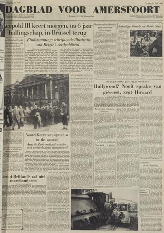 Dagblad voor Amersfoort 1950-07-21
