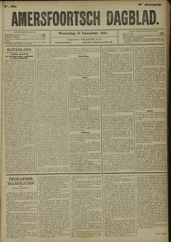 Amersfoortsch Dagblad 1910-11-16