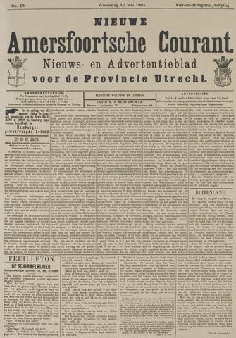 Nieuwe Amersfoortsche Courant 1905-05-17