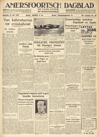 Amersfoortsch Dagblad / De Eemlander 1939-07-20