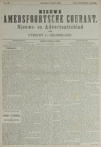 Nieuwe Amersfoortsche Courant 1893-04-15