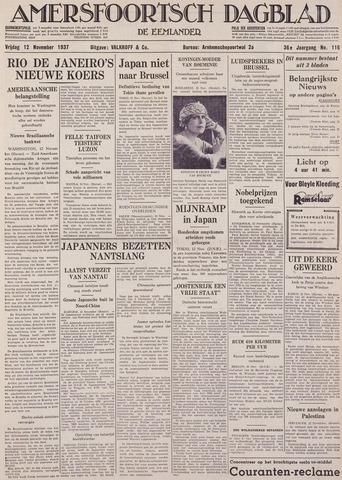 Amersfoortsch Dagblad / De Eemlander 1937-11-12