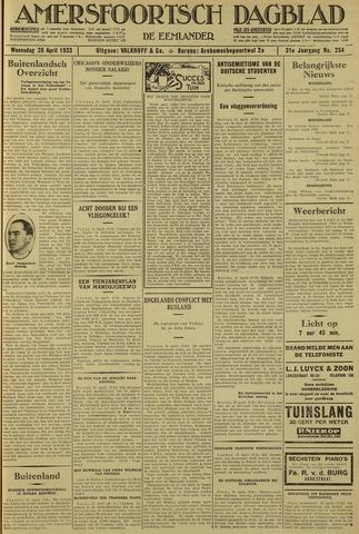 Amersfoortsch Dagblad / De Eemlander 1933-04-26