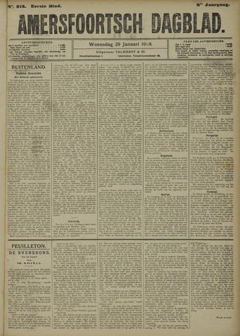 Amersfoortsch Dagblad 1908-01-29