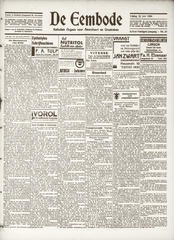 De Eembode 1934-06-22