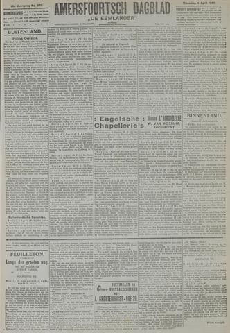 Amersfoortsch Dagblad / De Eemlander 1921-04-04